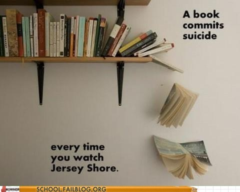 suicide the jersey shore think of the books - 6517755136