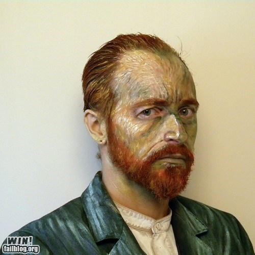 art costume makeup Van Gogh - 6517819136
