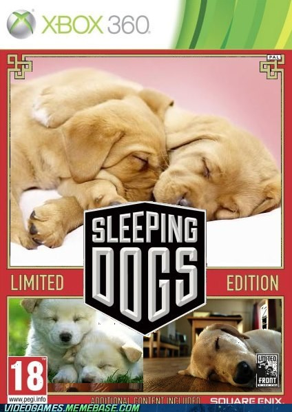 alsatian dogs Grand Theft Auto sleeping dogs the internets - 6517898496