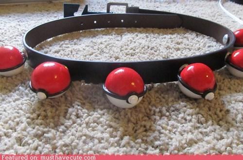 belt master Pokeballs Pokémon - 6518221568
