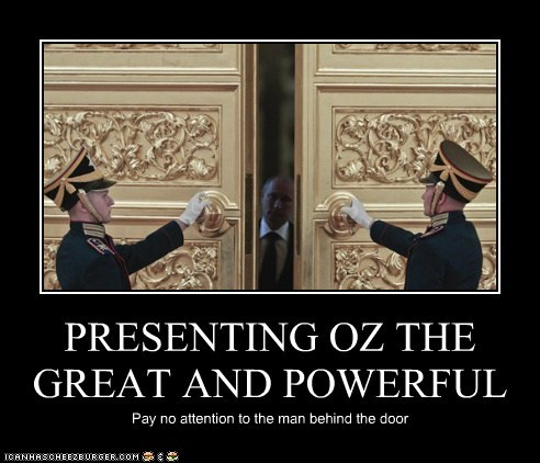 oz pay no attention to the man behind the curtain powerful the wizard of ox Vladimir Putin - 6518325248
