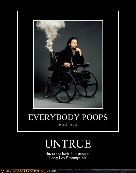 interesting,poops,Steampunk,untrue