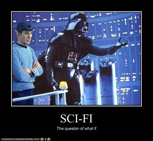 darth vader Leonard Nimoy mashup sci fi Spock Star Trek star wars what if - 6518852608