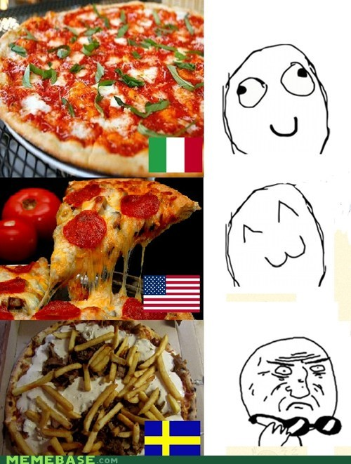 Italy,pizza,Sweden