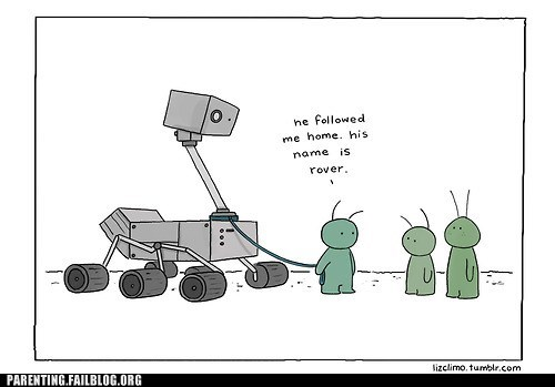 Aliens,comic,curiosity,Mars,martians