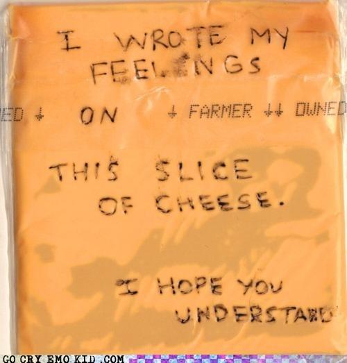 feels slice of cheese weird kid wtf