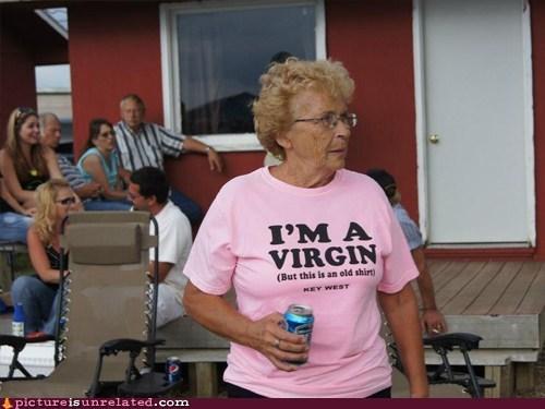 classy,grandma,virginity