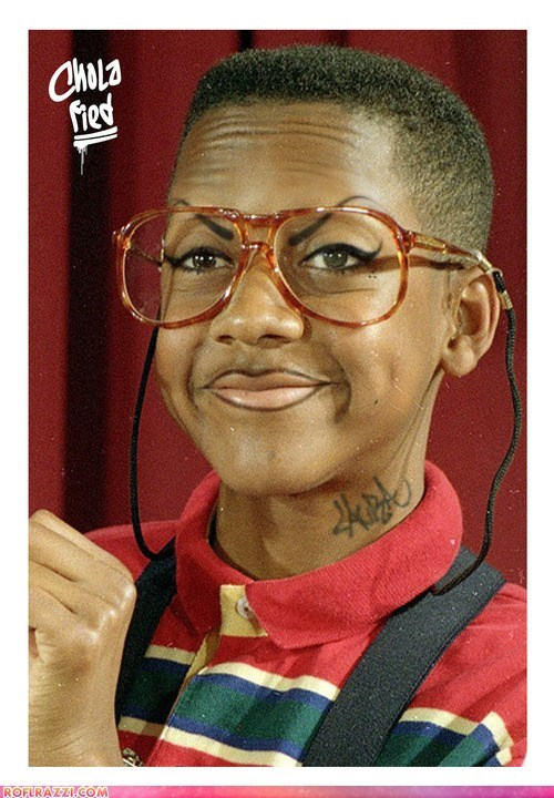 actor celeb cholafied funny Jaleel White shoop steve urkel - 6519357952