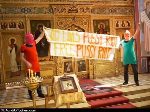 political pictures,pussy riot,russia,Vladimir Putin