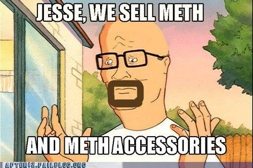 King of the hill,meth,meth accessories,propane
