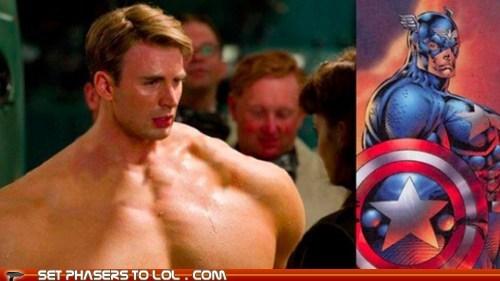 captain america chest chris evans muscles proportions - 6519595520