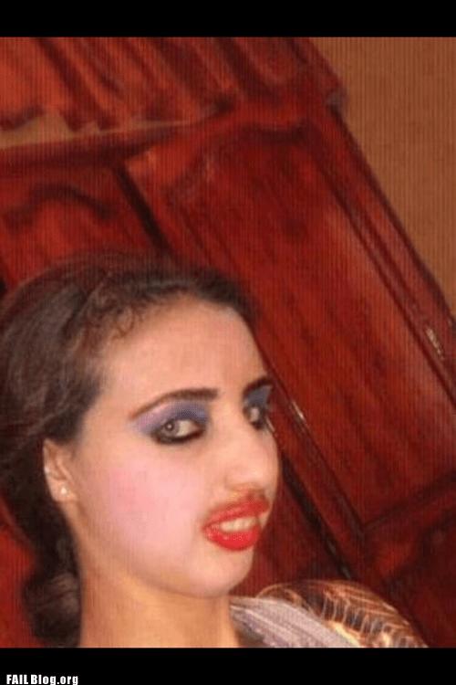 face makeup - 6519746048