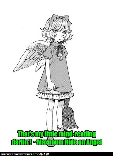 Angel is adorable...and creepy...but so adorable!