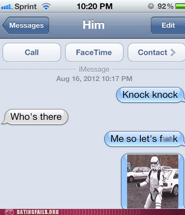 knock knock stormtrooper whos-there - 6519872768