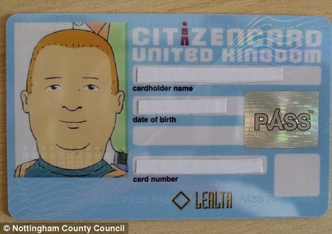 acceptable form of id,bobby hill,bobby hill id,King of the hill