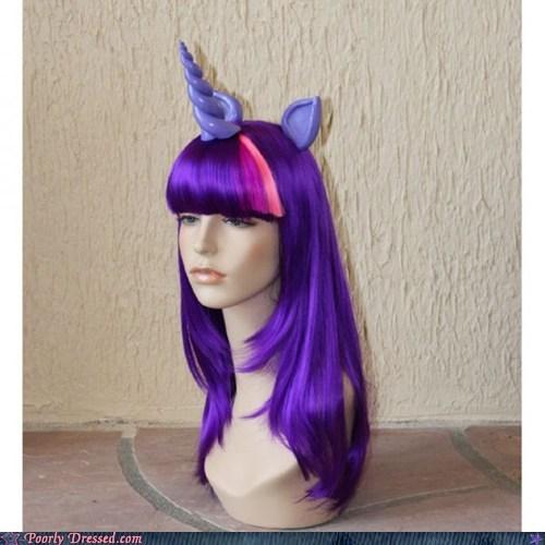 Mannequins,unicorns,wig