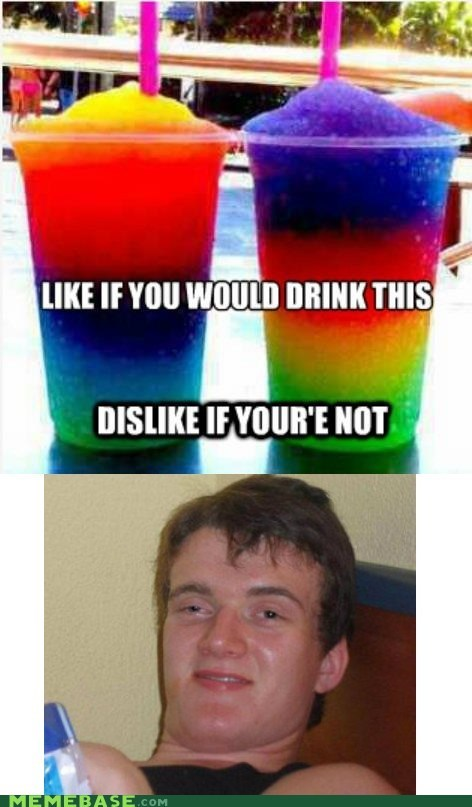drink facebook high guy like