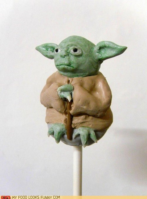 cake cake pop star wars sweets yoda