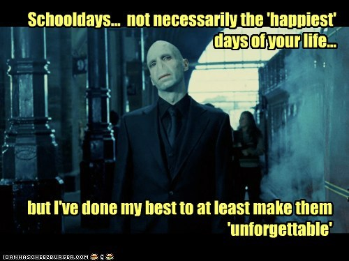 happiest,Harry Potter,ralph fiennes,school,unforgettable,voldemort