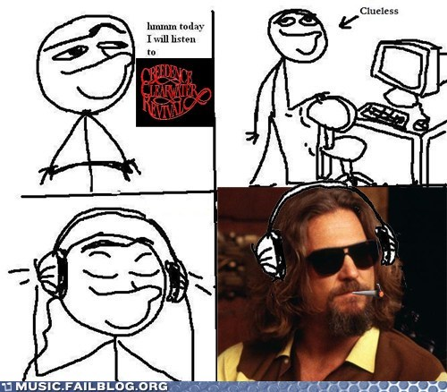 Big Lebowski,creedence clearwater revi,creedence clearwater revival,the dude