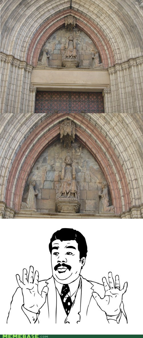 Badass,statue