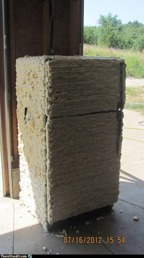cooling foam insulation refrigerator - 6522206720