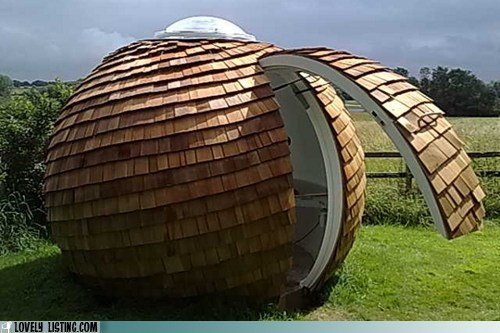 coconut dome modular orb shack shed