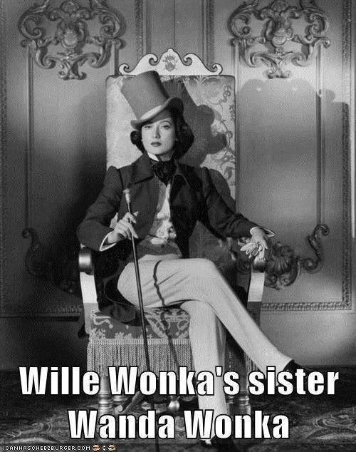candy,sister,wanda,Willie Wonka,woman