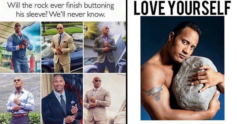 the rock memes pro wrestling Dwayne Johnson wwe dwayne the rock johnson celebrity memes dwayne johnson memes the rock funny tweets funny twitter - 6522629