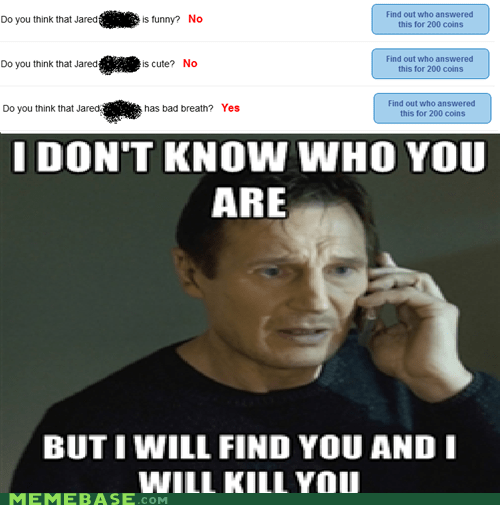 bad breath funny i will find you Jared liam neeson - 6522892288