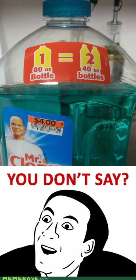 math mr clean you dont say - 6523111168