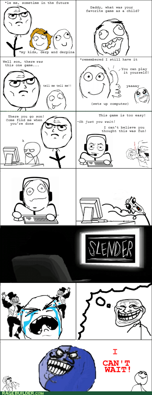 parenting,slender,video games