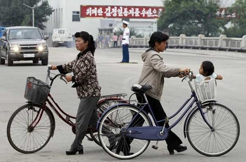 bicycles,human rights,Kim Jong-Il,kim jong-un,laws,North Korea