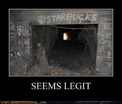 graffiti seems legit Starbucks