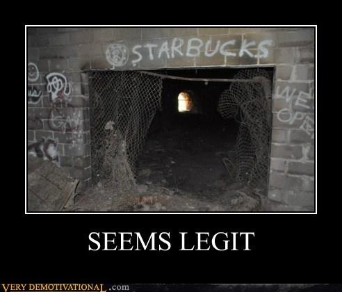 graffiti seems legit Starbucks - 6523359744