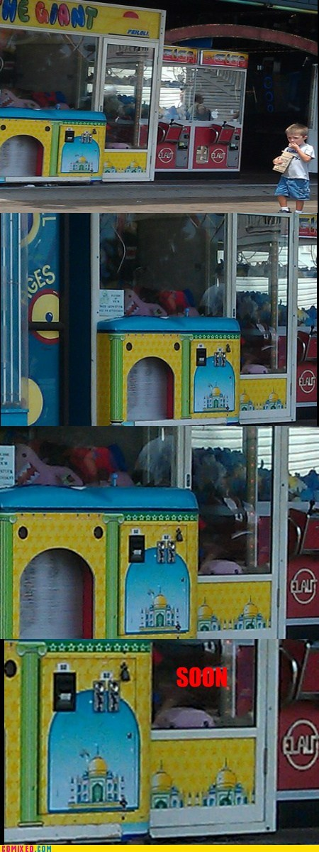 claw machine,domo,SOON