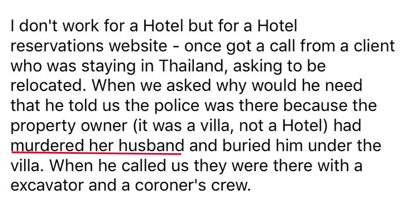 Funny, gross, and crazy stories from hotel workers.