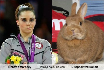 McKayla Maroney Totally Looks Like Disappointed Rabbit
