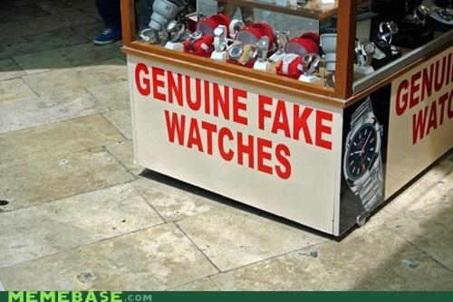 fake genuine watches - 6523969280