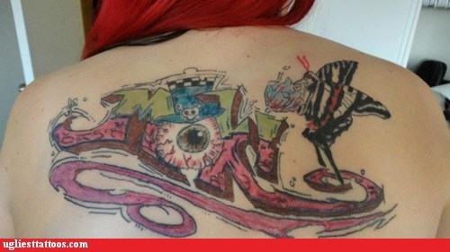 back tattoos butterfly eyeball - 6524199680