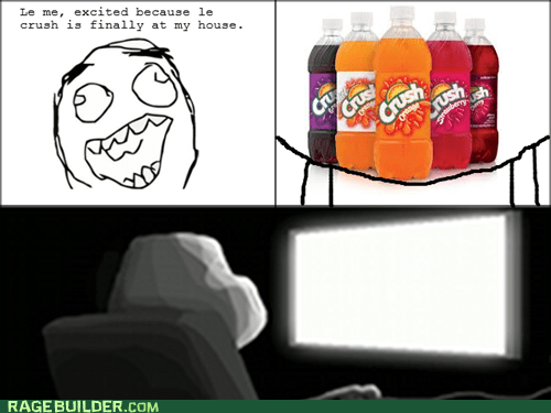 forever alone,soda,crush