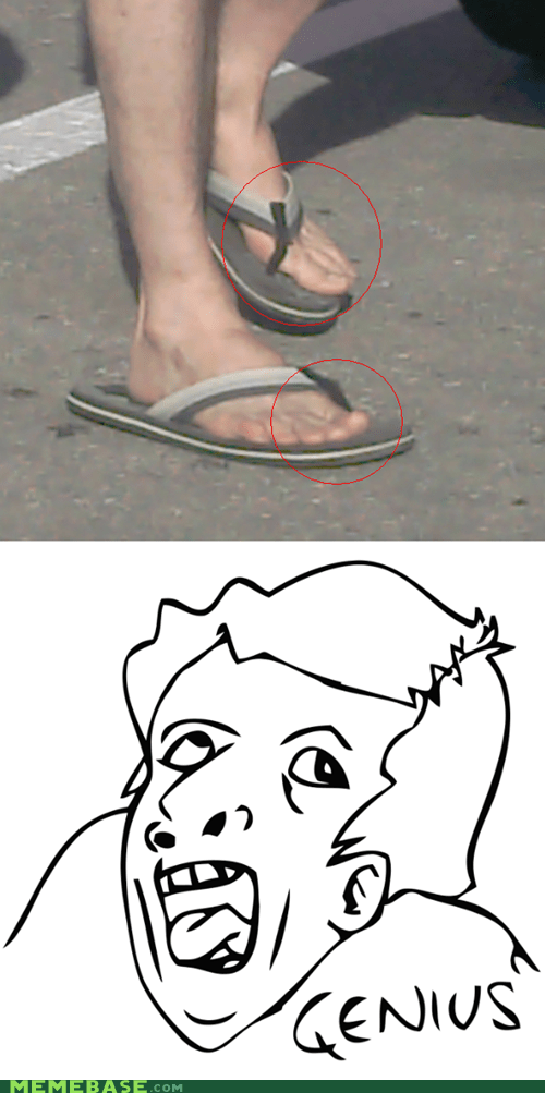 Flip flops of the genius
