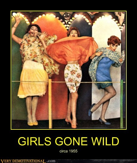 GIRLS GONE WILD circa 1955