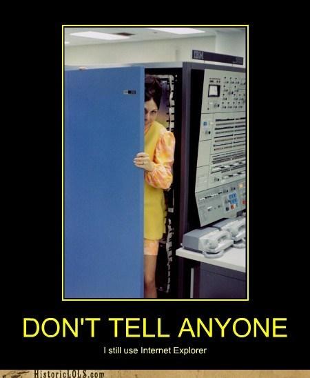 cabinet computer internet explorer shame woman - 6524937984