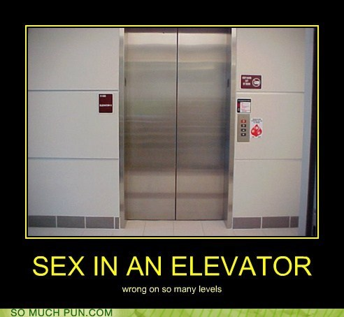 Aerosmith,double meaning,elevator,levels,literalism,love in an elevator,sex,wrong