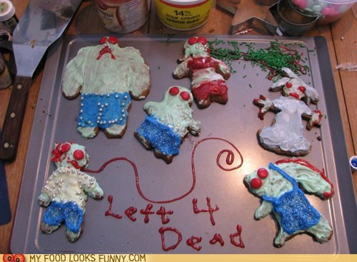 cookies,gingerbread,Left 4 Dead,men
