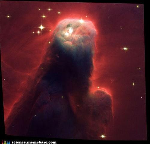 Astronomy,cone,nebula,stars,universe