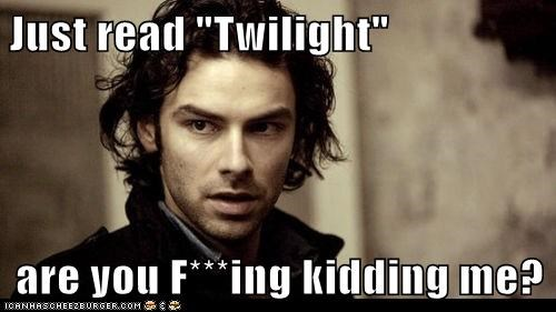 aidan turner,are you kidding me,being human,mitchell,twilight,vampire
