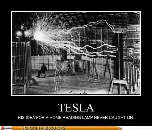 home reading lamp,inventions,it works,tesla