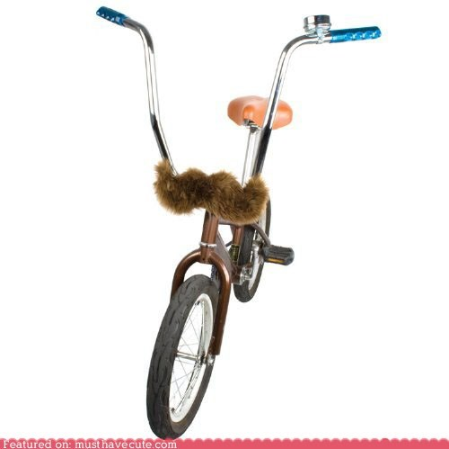 accessory bike handlebars mustache
